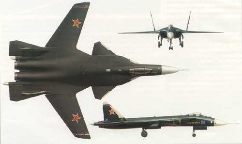 Sukhoi Su-47 Berkut Plan-berkut